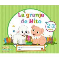 LIBRO INFANTIL 2-3 AÑOS LA GRANJA DE NITO