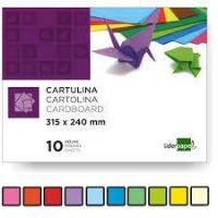 BLOCK CARTULINA COLORES SURTIDOS A4