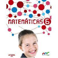 LIBRO MATEMATICAS 6º EP ANAYA