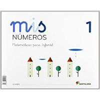LIBRO MATEMATICAS 1  4 AÑOS MIS NUMEROS SANTILLANA
