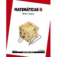 LIBRO MATEMATICAS 6º EP APRENDER ES CRECER ANAYA