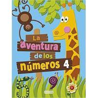 CUADERNILLO LA AVENTURA DE LOS NUMEROS 4