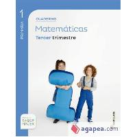 CUADERNILLO 3ºT MATEMATICAS 1º EP SABER HACER SANT